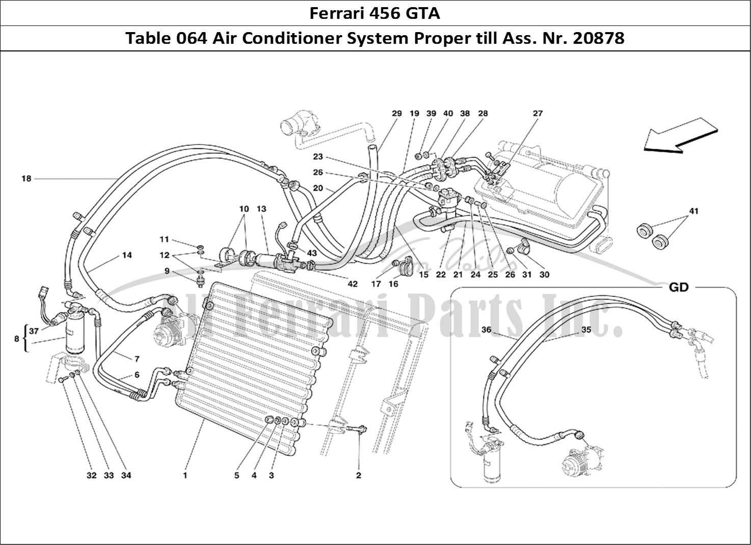 Buy Original Ferrari 456 Gta 064 Air Conditioner System