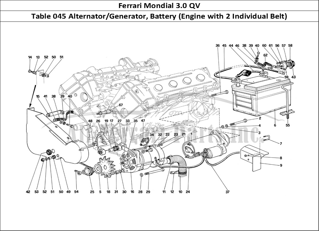 Buy Original Ferrari Mondial 3 0 Qv 045 Alternator