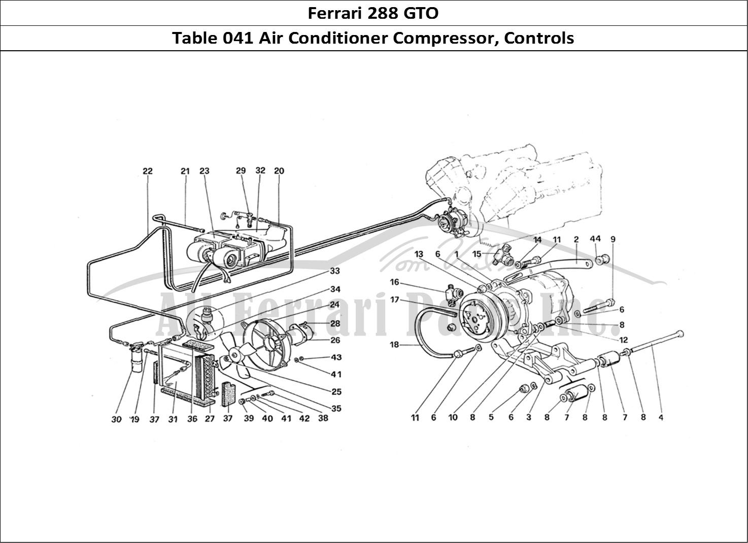 Buy Original Ferrari 288 Gto 041 Air Conditioner