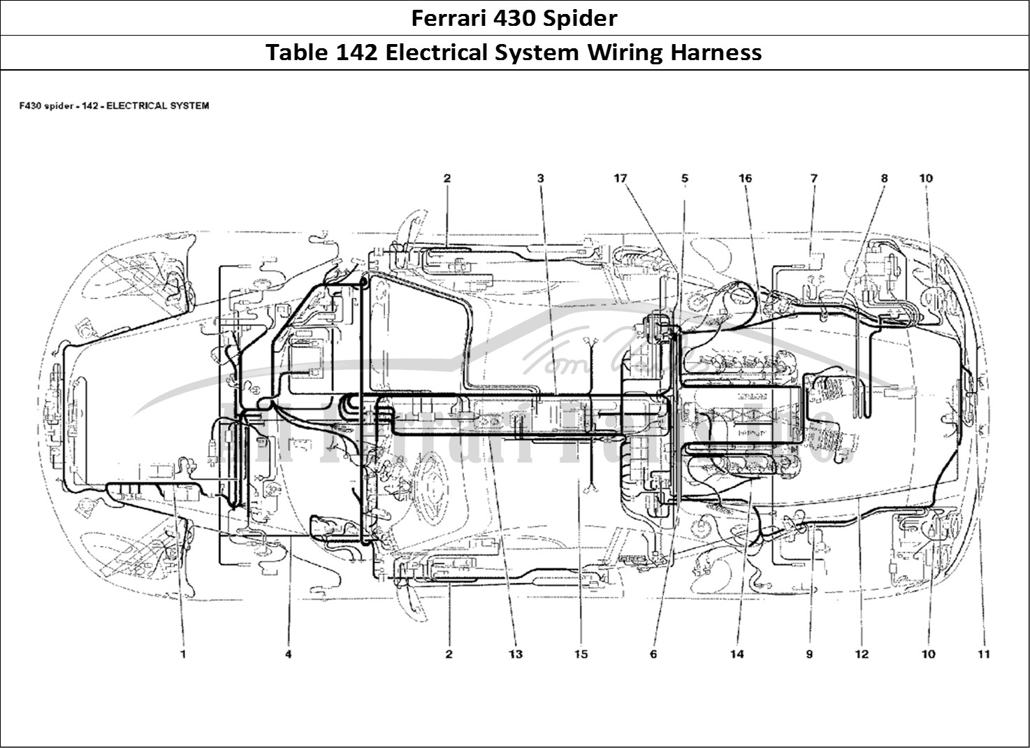 Buy Original Ferrari 430 Spider 142 Electrical System