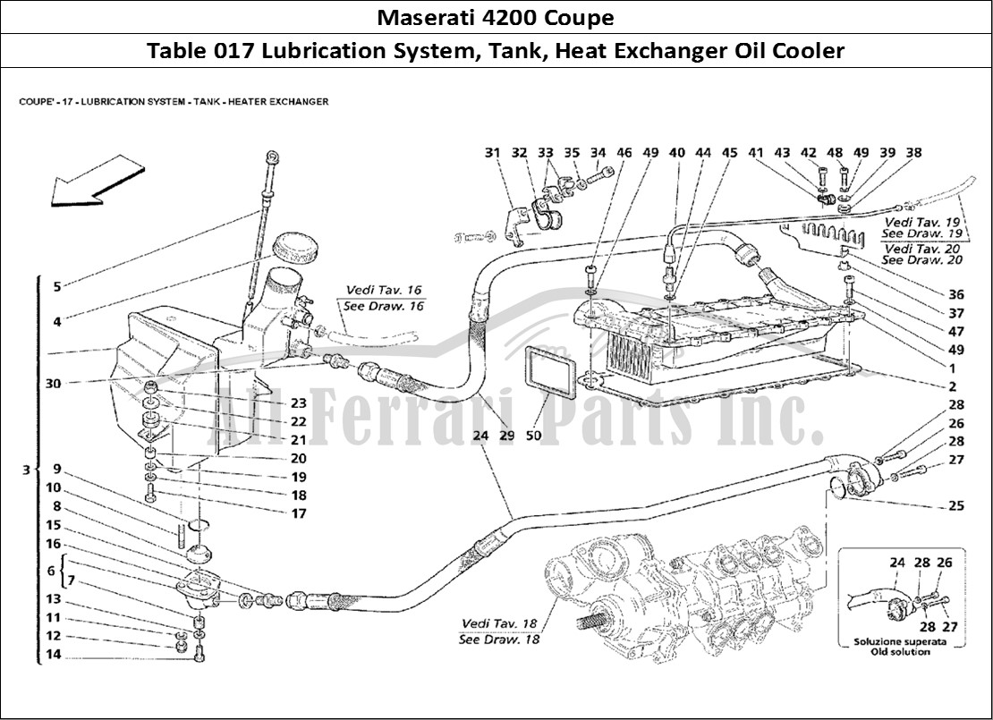 Buy Original Maserati Coupe 017 Lubrication System