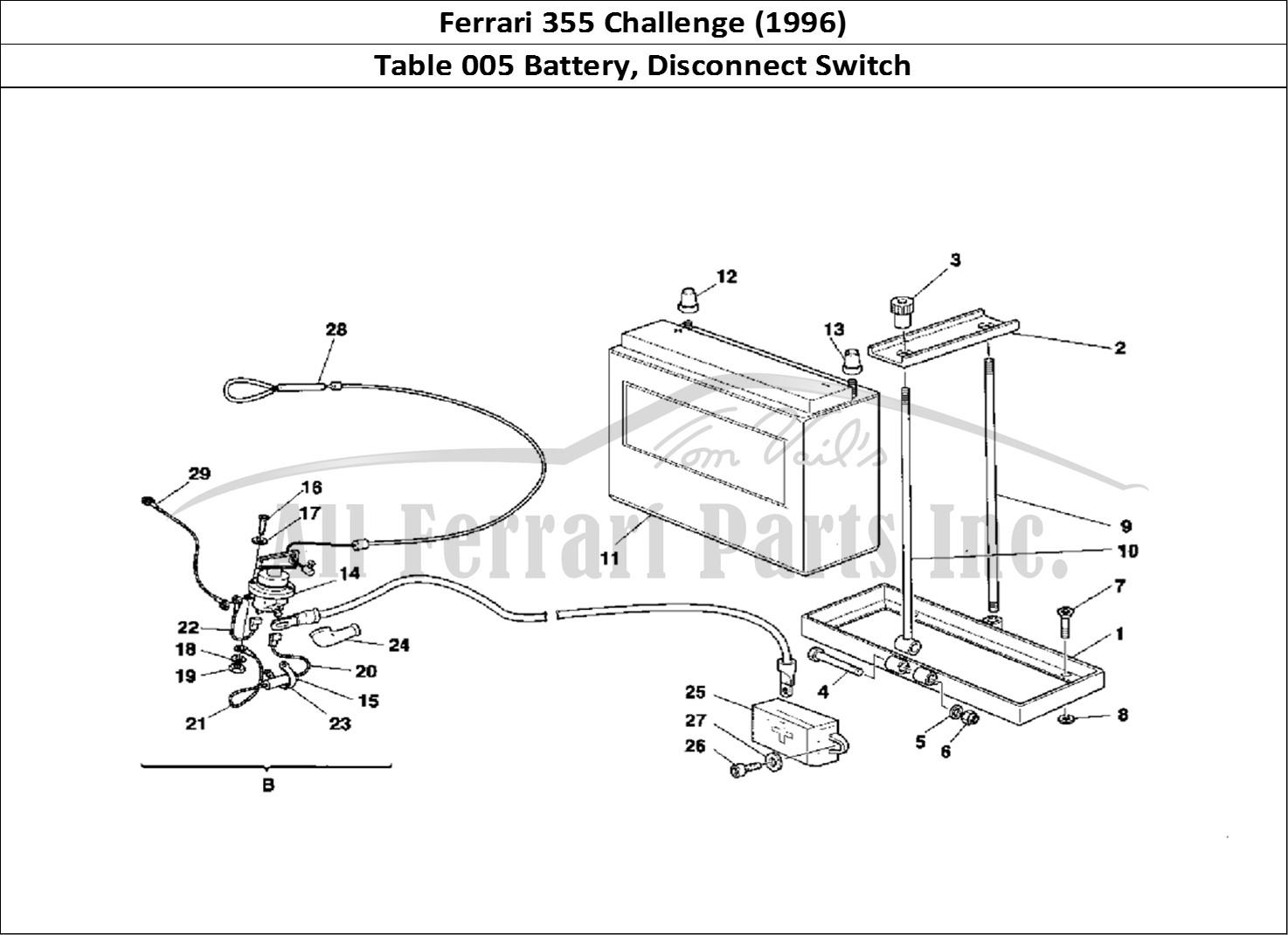 Buy Original Ferrari 355 Challenge 005 Battery