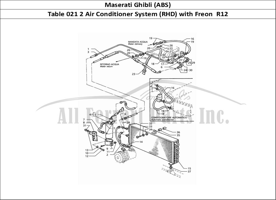 Buy Original Maserati Ghibli Abs 021 2 Air Conditioner