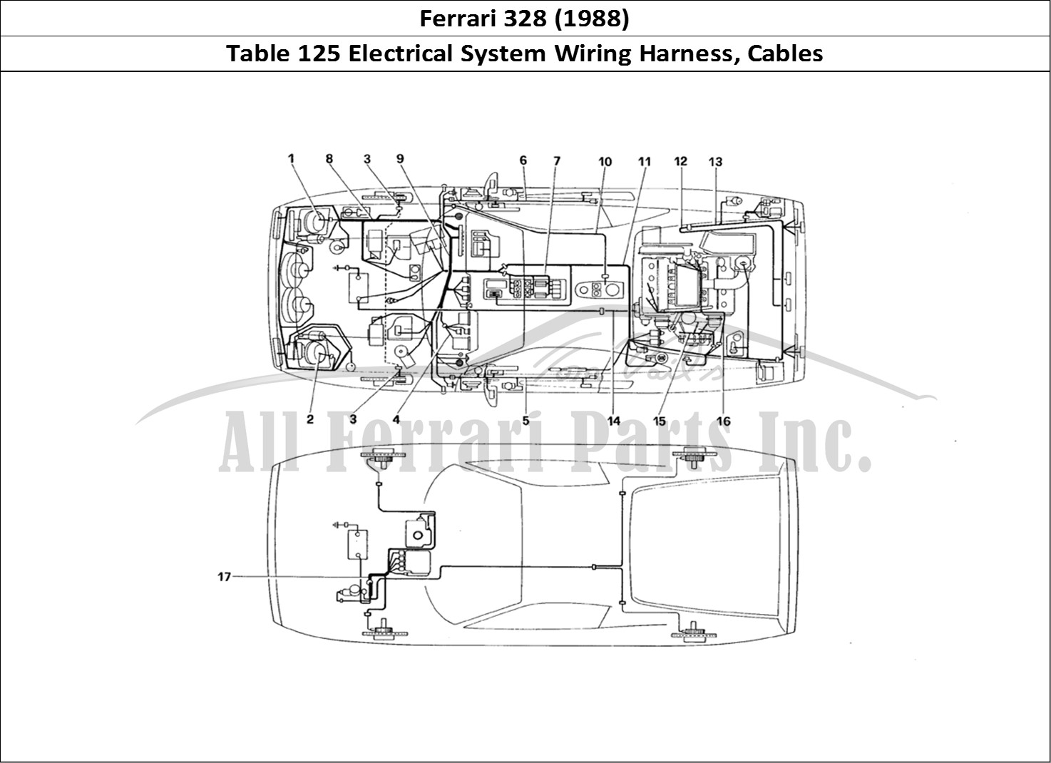 Buy Original Ferrari 328 125 Electrical System