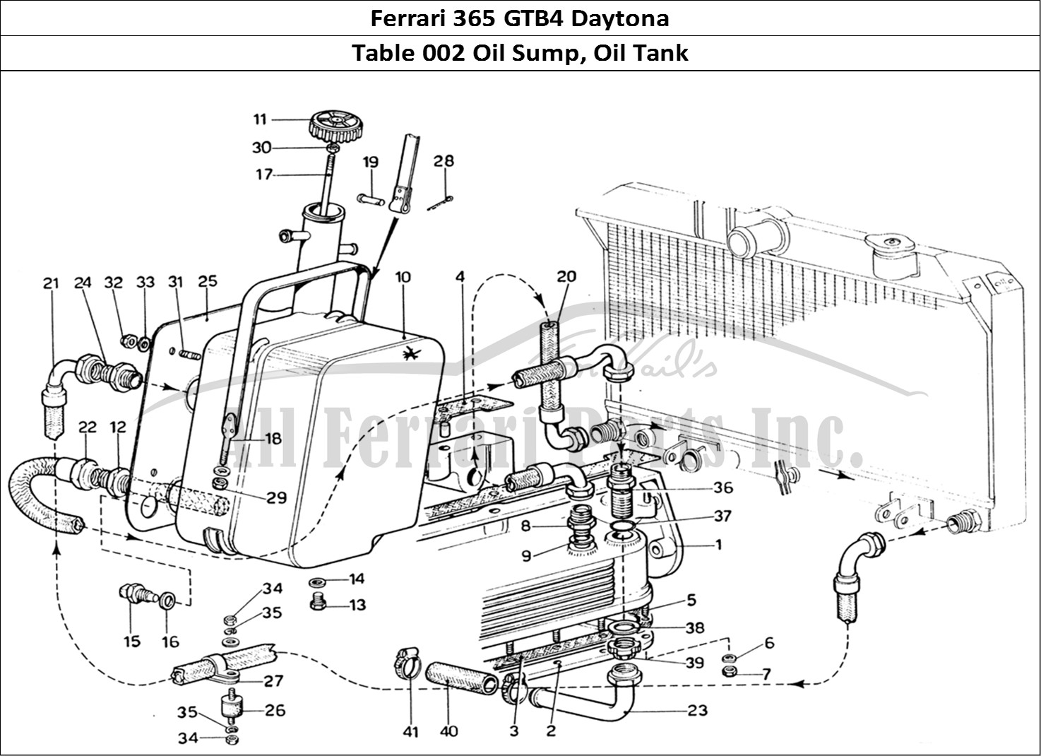 Buy Original Ferrari 365 Gtb4 Daytona 002 Oil Sump Oil