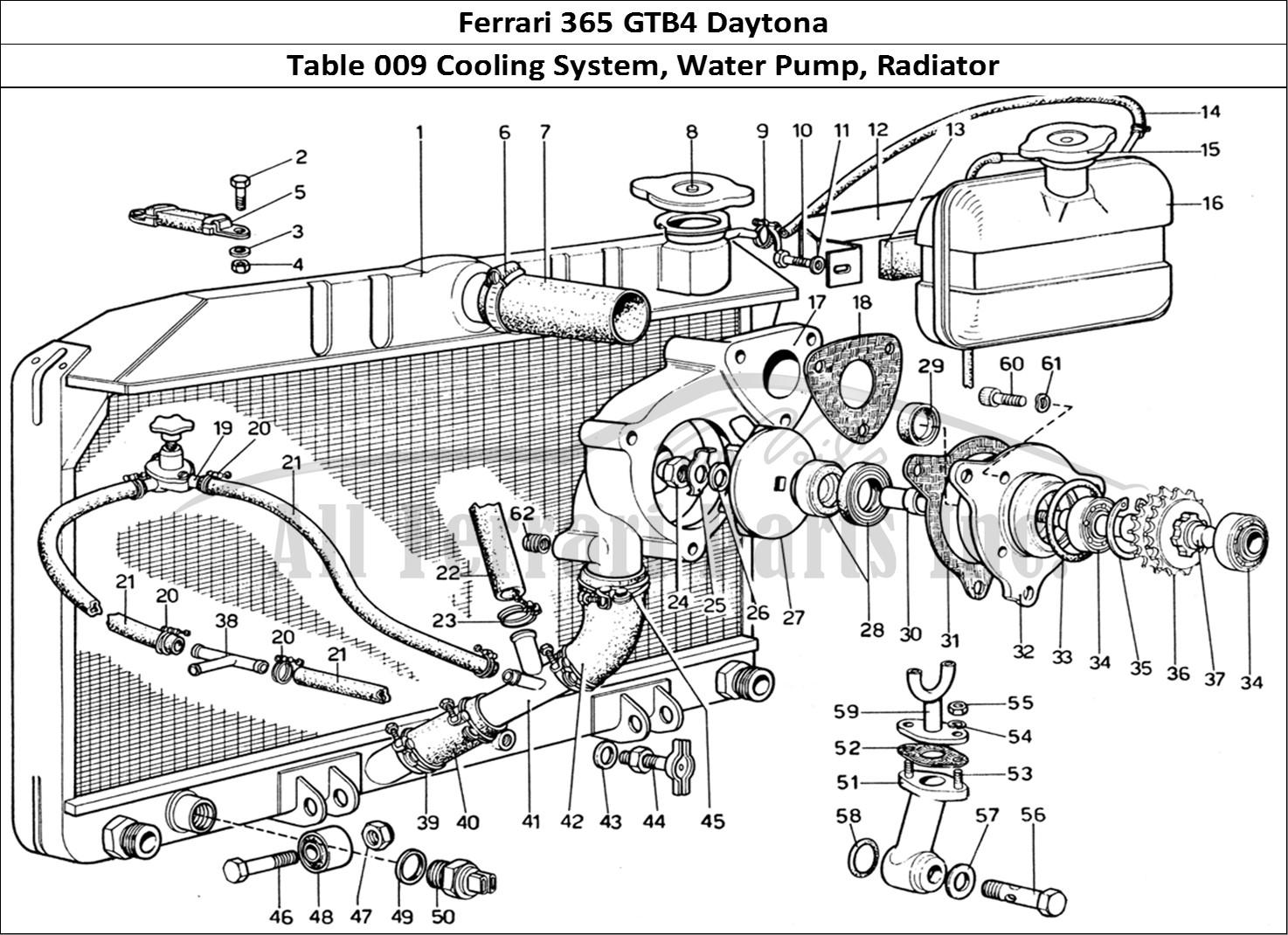 Buy Original Ferrari 365 Gtb4 Daytona 009 Cooling System