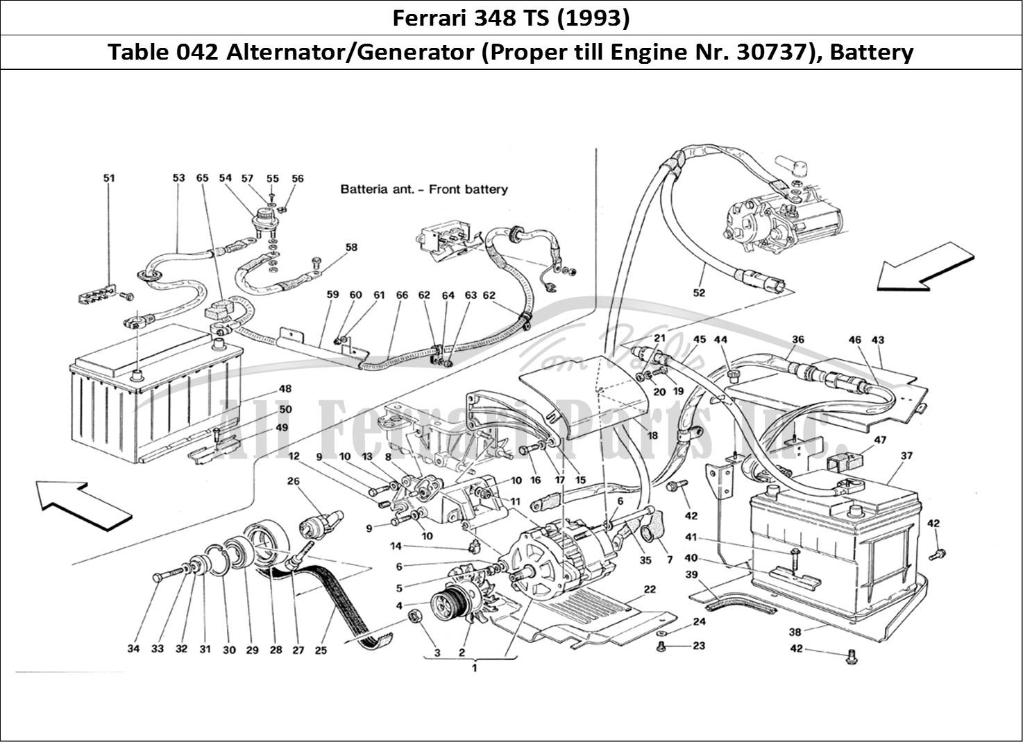 Buy Original Ferrari 348 Ts 042 Alternator