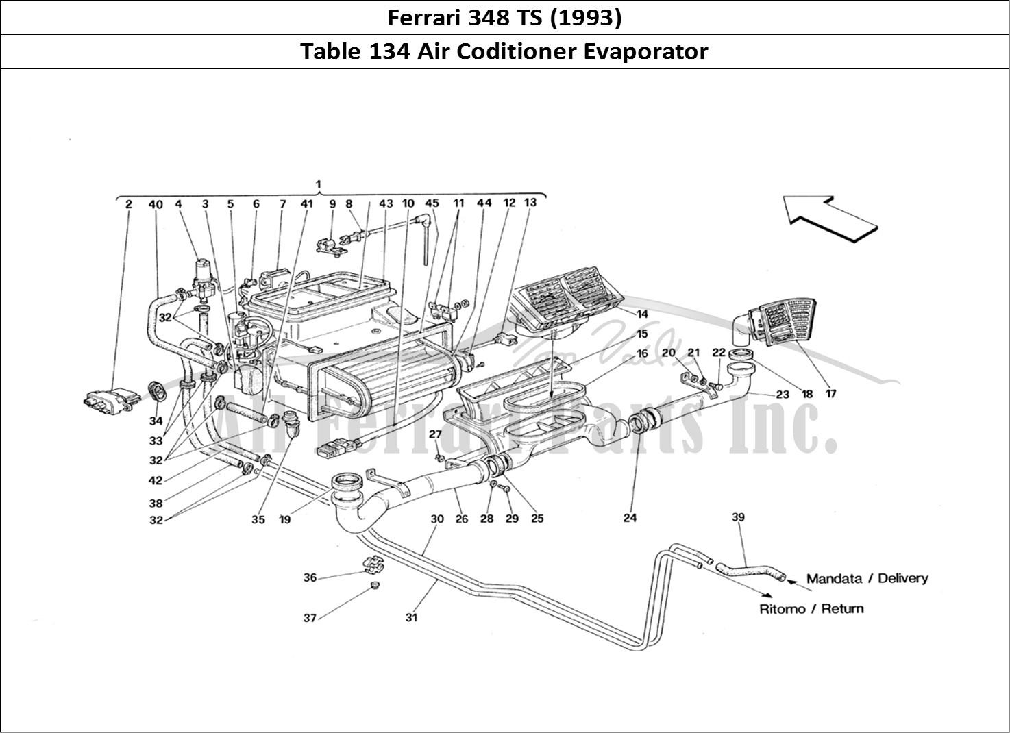 Buy Original Ferrari 348 Ts 134 Air Coditioner