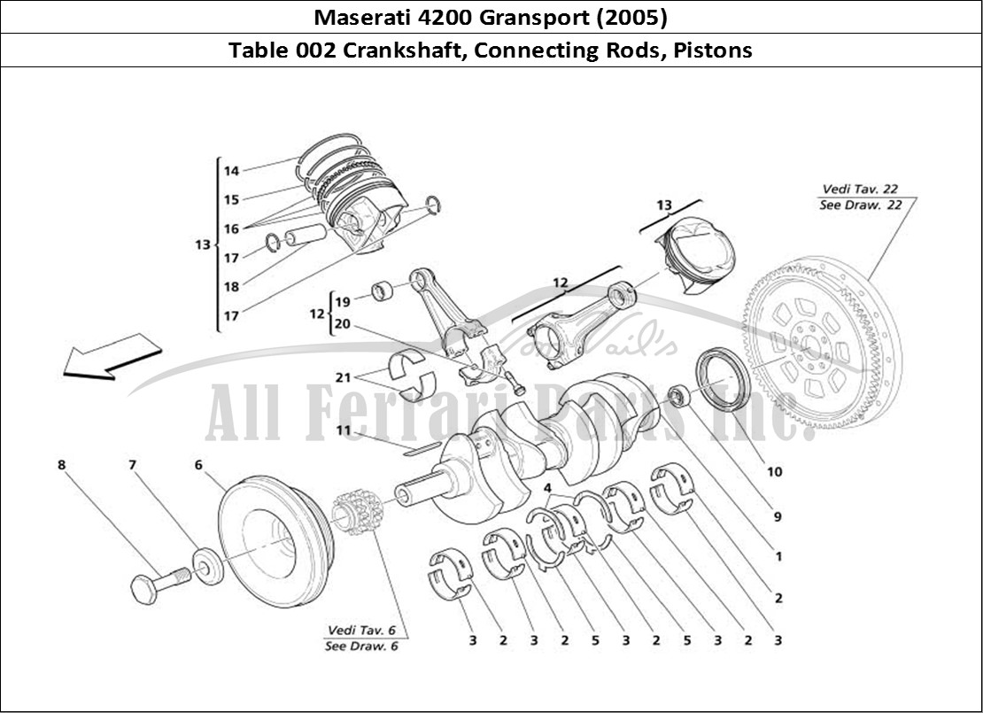Buy Original Maserati Gransport 002 Crankshaft