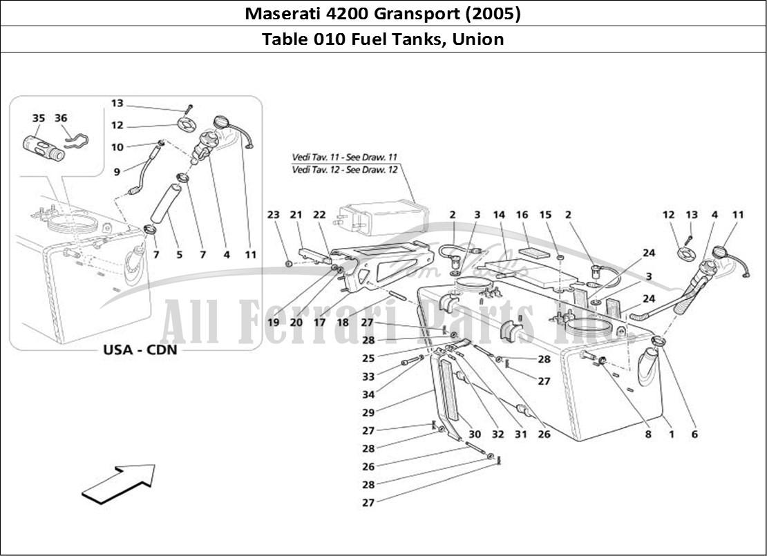 Buy Original Maserati Gransport 010 Fuel Tanks