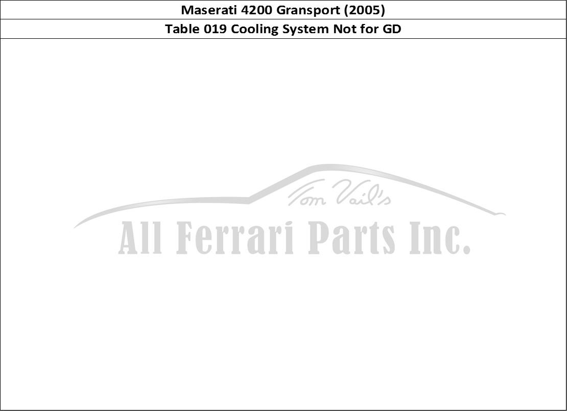 Buy Original Maserati Gransport 019 Cooling