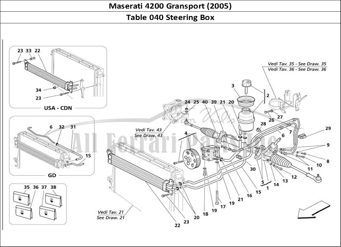 Buy Original Maserati Gransport 040 Steering Box Ferrari Parts Spares Accessories