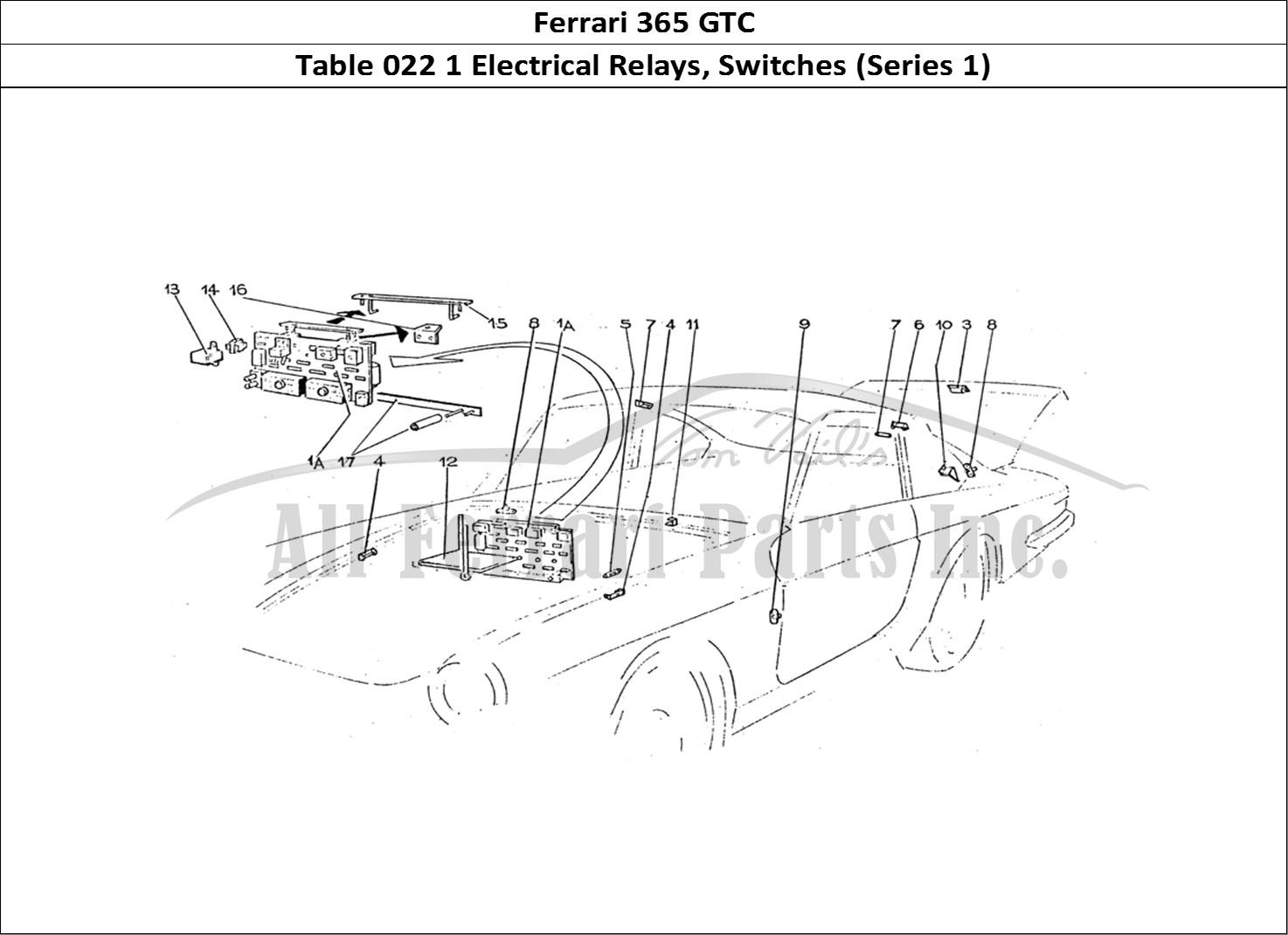 Buy Original Ferrari 365 Gtc 022 1 Electrical Relays