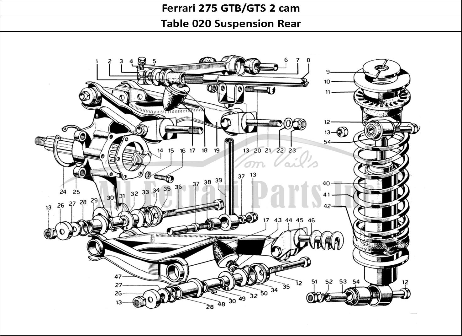 Buy Original Ferrari 275 Gtb Gts 2 Cam 020 Suspension Rear