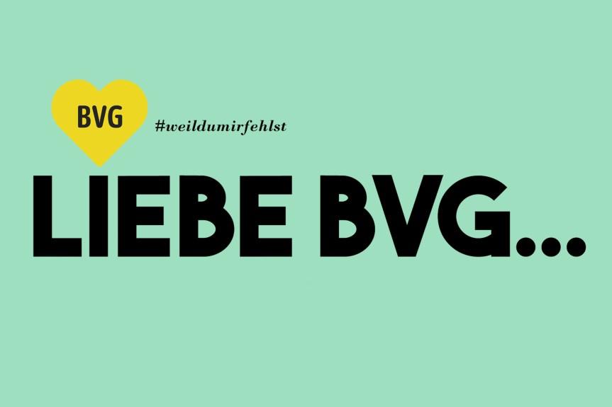 #Corona-Krise in Berlin: Ein Liebesbrief an die BVG