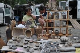le marché du pays à Trébas