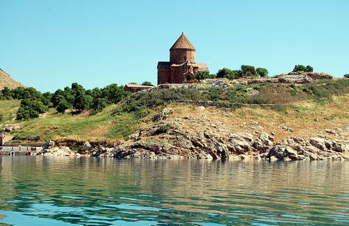Akdamar Armenian Church on an island in Lake Van. Photo by Ferrell Jenkins.