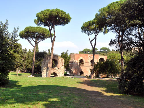The Palatine Hill in Rome. Photo by Ferrell Jenkins.