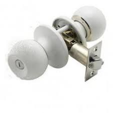 pomo puerta mha llave blanco 281-60/70