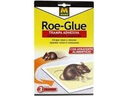 trampa adhesiva roe glue 3 udes