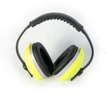 auricular con arnés y auricular acolchado