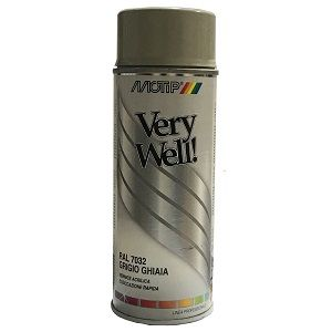 pintura spray plata brillo