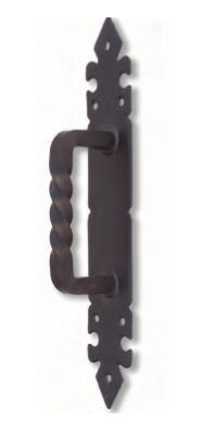tirador con placa mod 2