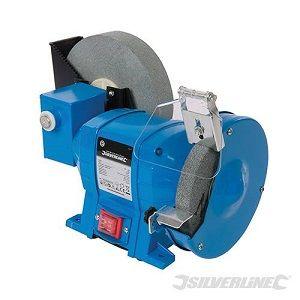 esmeriladora de banco seco/humedo 250w