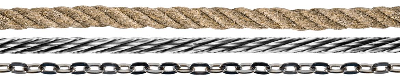 Catálogo - Cadenas, Cables de Acero y Cuerdas