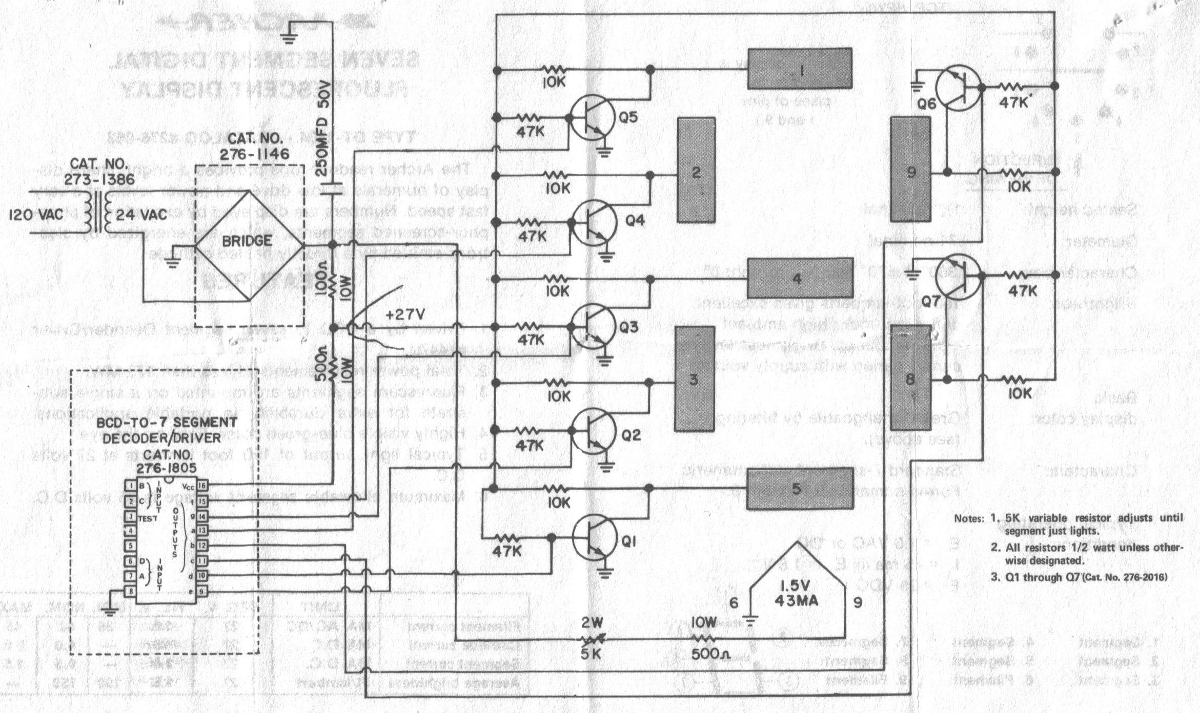 Jeff S Quickie Page Of Vintage Vfd Vacuum Fluorescent Displays