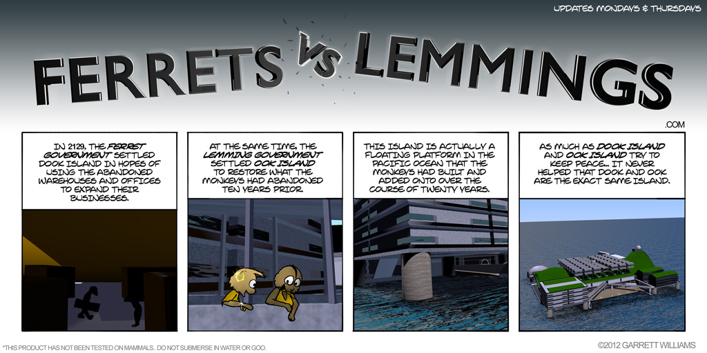 Ferrets Vs Lemmings Is Here!!!
