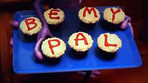 Be my pal cupcakes (English)