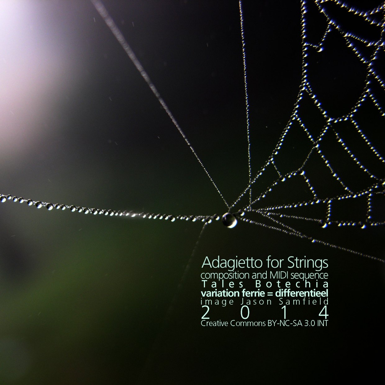 Adagietto for Strings cover