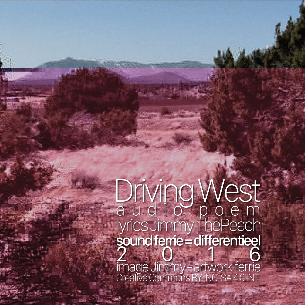 Driving West cover