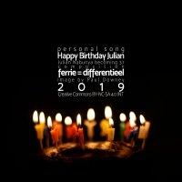 Happy Birthday Julian <br /> een muzikaal kadootje