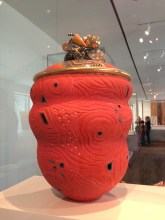 Ralph Bacerra, Vessel, glazed ceramic, 1999 The Daphne Farago Collection, MFA Boston