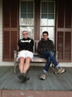 Paul Scott's USA Tour- dual residencies at Project Art and the Clay Studio - Bryant Homestead with Stuart Chase