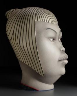 """Sergei Isupov, """"Chosen One"""" 2009, stoneware, 29 x 22 x 23""""."""