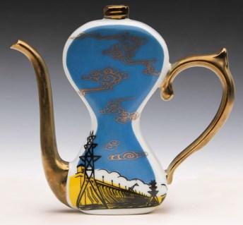 "Garth Johnson, ""Made in China 2"" 2010, porcelain."