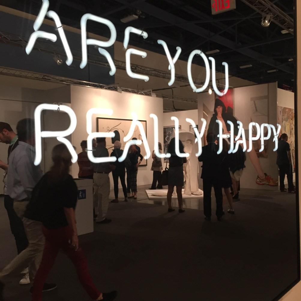 "ART BASEL MIAMI BEACH   Scene + Seen   Johann Konig   Jeppe Hein ""Are You Really Happy"""