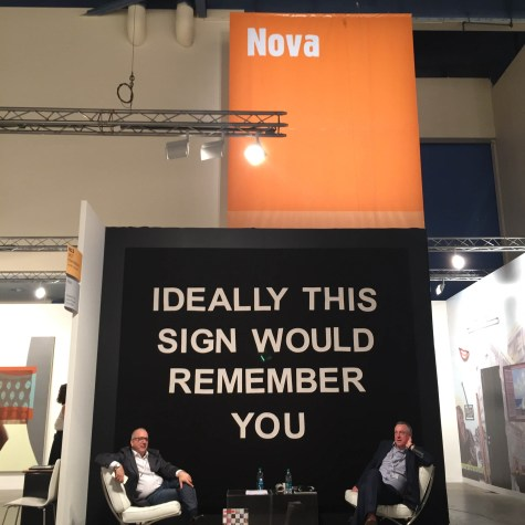 ART BASEL MIAMI BEACH 'Ideally This Sign Would Remember You' by Laure Prouvost
