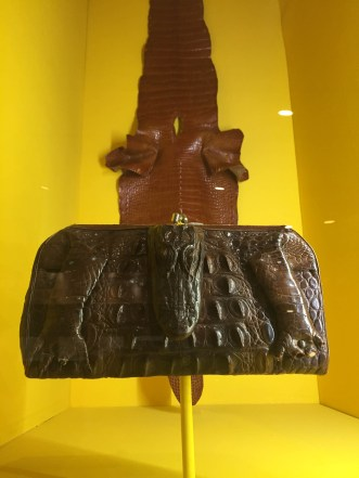 MIAMI 2014 | History Miami | Alligator Purse