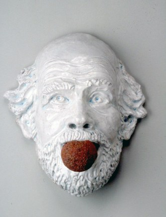 "MIAMI PROJECT | George Adams | Robert Arneson | ""Ceramic Gag #2"", 1991"