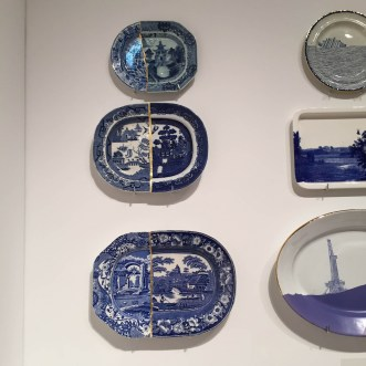 MIAMI PROJECT   Ferrin Contemporary   MADE IN CHINA: New Export Ware   Paul Scott   Cumbrian Blues   Kintsugi Collage Plates