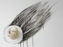 "Sergei Isupov, ""Order"" 2015, porcelain, slip, glaze, 9 x 8 x 6.5""."