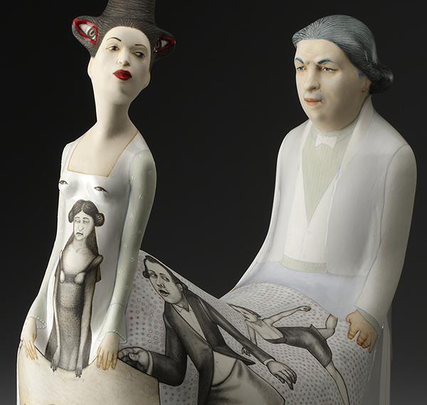 Juxtapoz: New Ceramic Work by Sergei Isupov