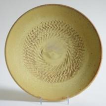 "Warren Mackenzie, ""Platter"" 2003, stoneware, 2.5 x 13.5 x 13.5""."