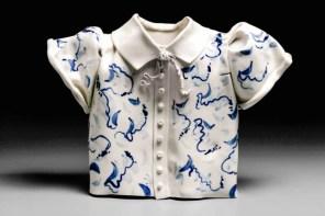 Coille Hooven, Petite Fille, 1986, porcelain, 9.75 x 13.25 x 3.25
