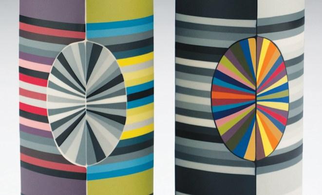 """Peter Pincus, """"Alternating Columns"""" detail, 2018"""