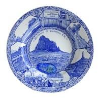 Paul Scott, Cumbrian Blue(s), New American Scenery, Souvenir of Shiprock, 2019